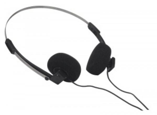 89760C Kopfhörer mit Winkelstecker, 1,8 m Anschlusskabe