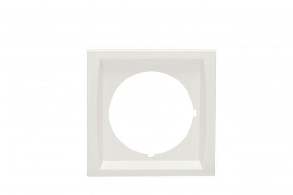 88910B3 Normplatte mit Einsatzlochung nach DIN 49075, weiß, B: 68 mm H: 68 m