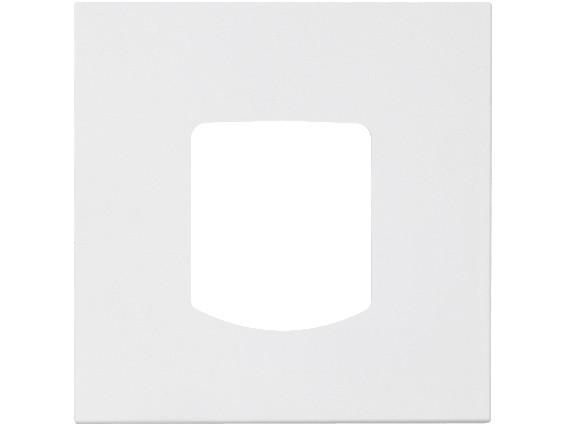 88910N3 Abdeckplatte für Abwurfsteckvorrichtung, weiß, B: 68 mm H: 68 m