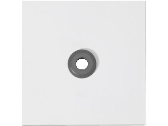 88880C3 Abdeckplatte für pneumatischen Ruftaster, weiß