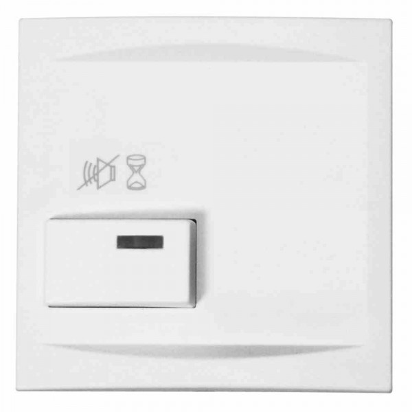 88881P3 Abdeckplatte für parallele Dienstzimmer-Anzeigeeinheit, weiß