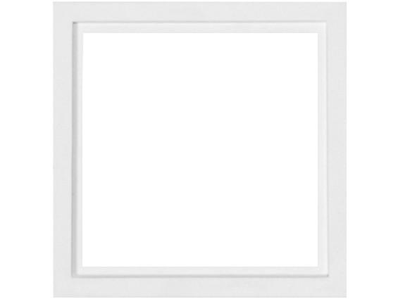 88914A3 Rahmen für Abdeckplatten 1-fach, weiß