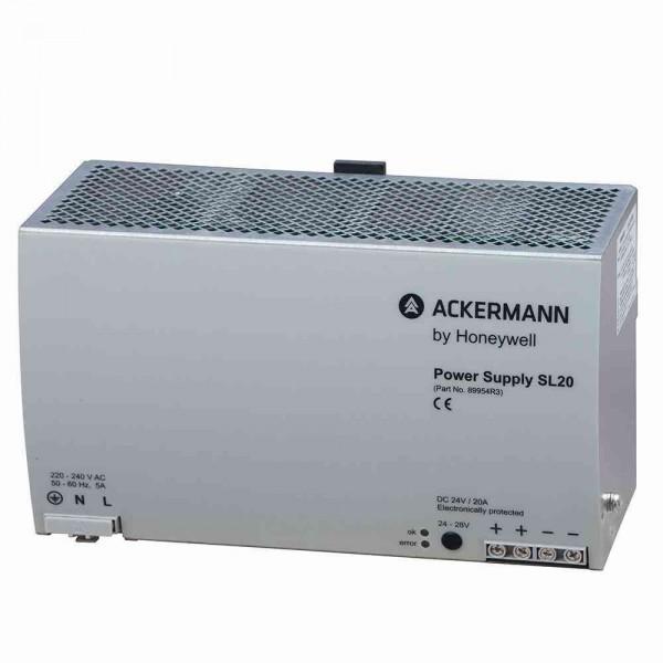 89954R3 Einphasen-Netzgerät 24 V DC (20 A), für Hutschienenmontage in der Unterverteilung, 8