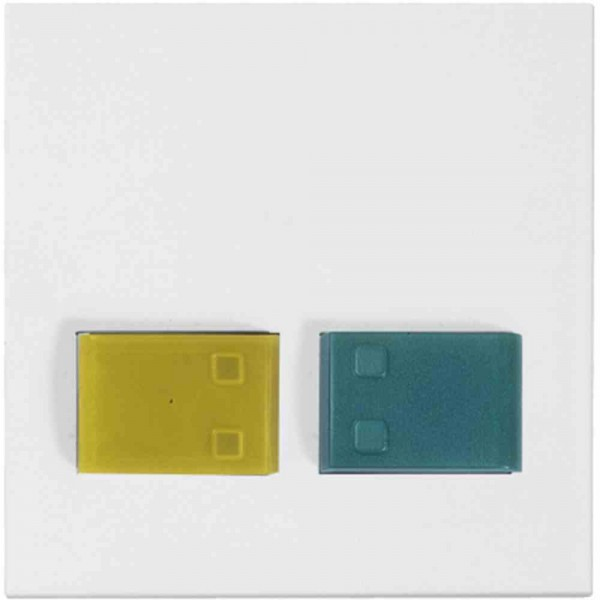 88882B3N Cover plate with keys -yellow-, -green-