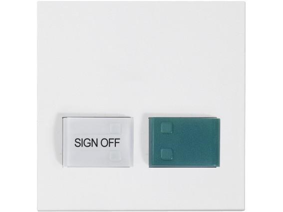88882P3N Abdeckplatte für Dienstzimmereinheit, weiß