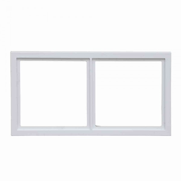 88914B3 Rahmen für Abdeckplatten 2-fach, weiß