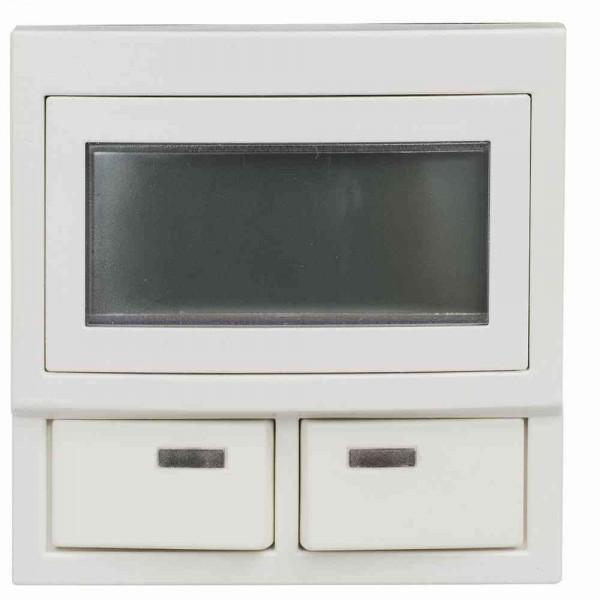 74911B5 Universal-Displaymodul für Betten-/Zimmerbus, weiß, Integriertes LC-Display (2*8 Ste