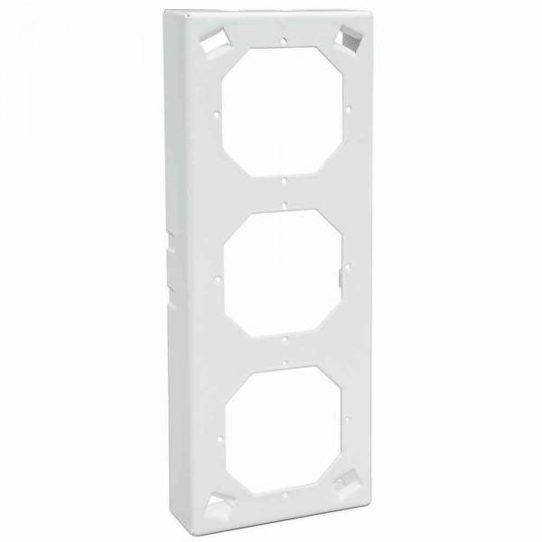 88915D3 Sockel-AP 3-fach, weiß
