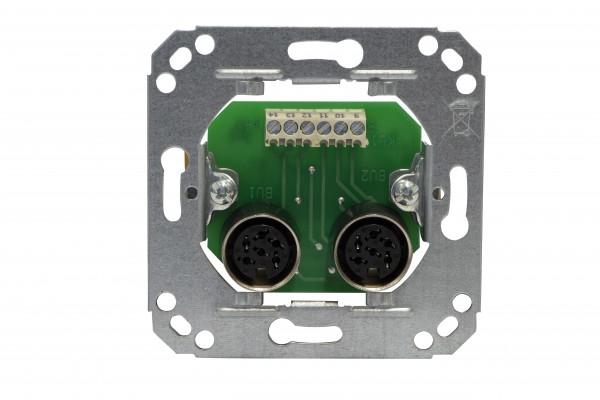 73020G Rufeinheit (2 x 6-polig) (Arbeitsstrom) System 99