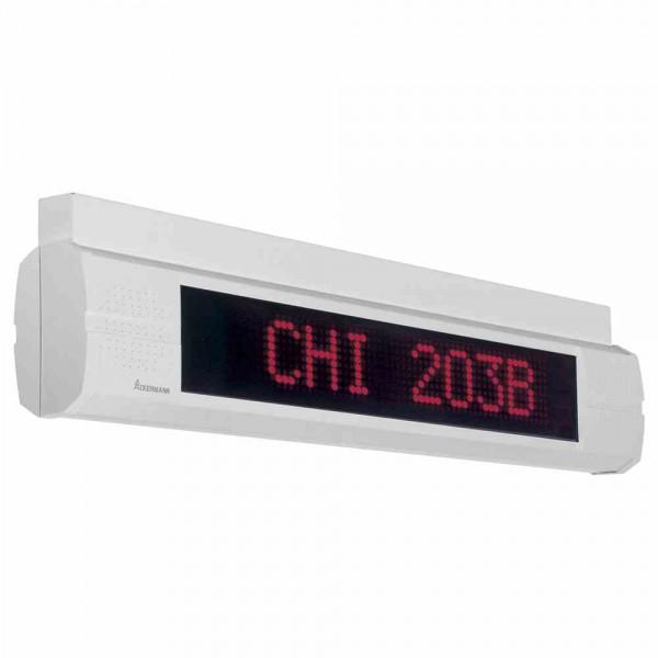 74657A1 Informationsdisplay doppelseitig für Deckenmontage