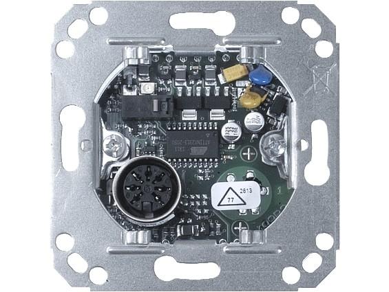 73075A Rufeinheit mit Ruftaster und 1 Steckkontakt