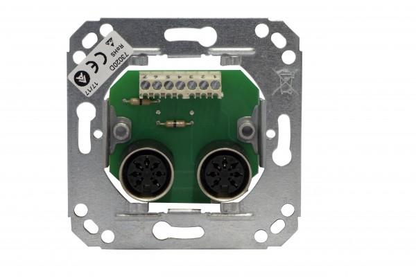 73020D Rufeinheit (2 x 7-polig) (Arbeitsstrom) System 99